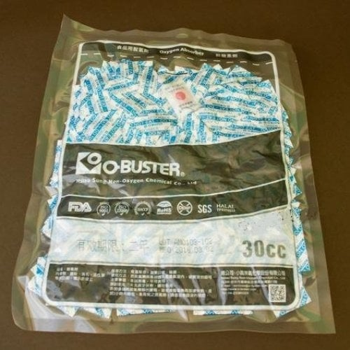 O-Buster Oxygen absorber sachets