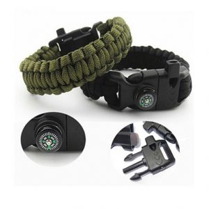 Paracord-Bracelet-Basic-Emergency-Survival-Kit