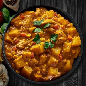 Chicken-Vegetable-Curry